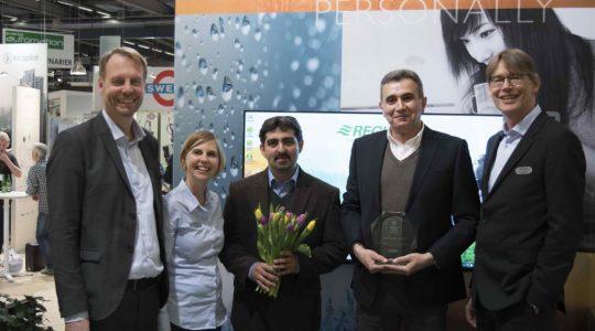 کسب جایزه جهانی Energy Saver Awards